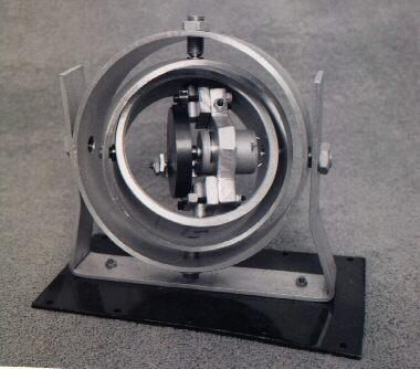 3 axis Electric driven gyroscope